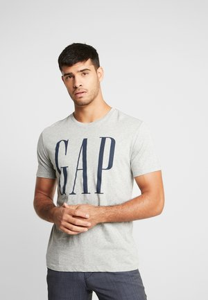 CORP LOGO - T-shirt z nadrukiem - grey heather