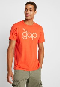 GAP - BUBBLE  - Print T-shirt - red delicious - 0