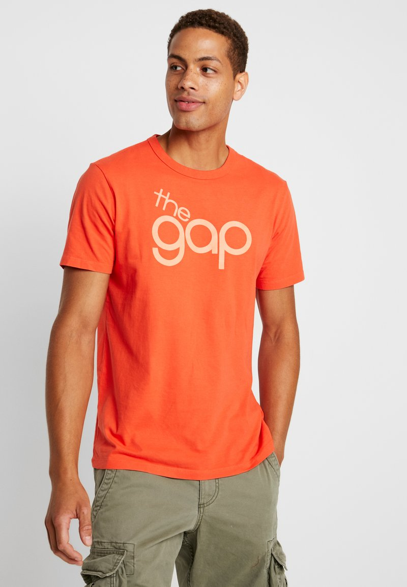 GAP - BUBBLE  - Print T-shirt - red delicious