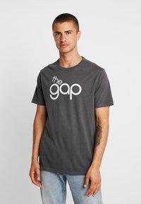 GAP - BUBBLE  - T-shirt print - soft black - 0