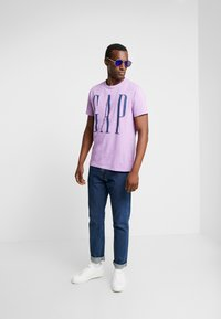 GAP - T-shirt print - admiral blue - 1