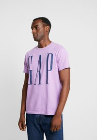 GAP - T-shirt print - admiral blue - 0