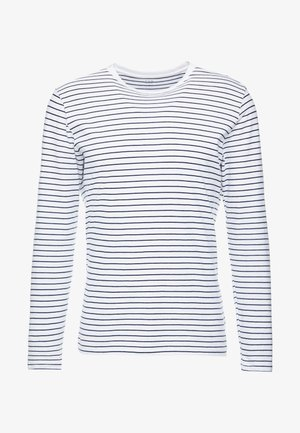 CREW - Langærmede T-shirts - white global