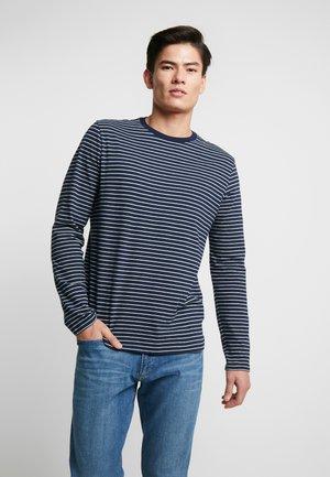 CREW - Bluzka z długim rękawem - tapestry navy