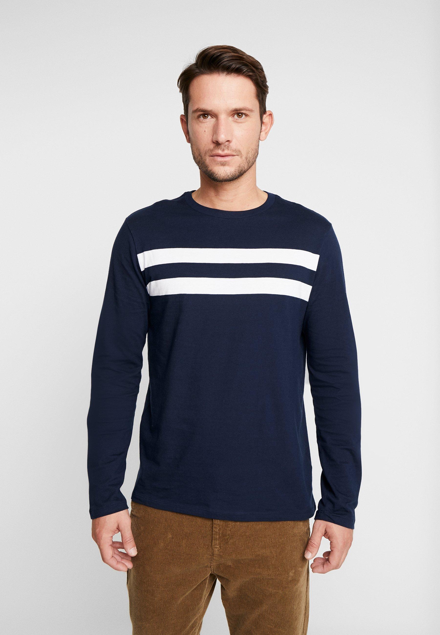 GAP CREW - Bluzka z długim rękawem - tapestry navy