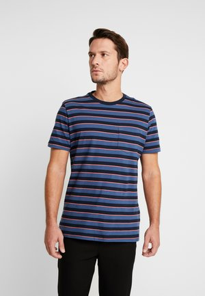 T-shirt imprimé - blue/black