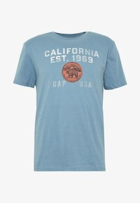 GAP - Print T-shirt - pacific blue - 3