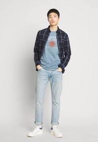 GAP - Print T-shirt - pacific blue - 1