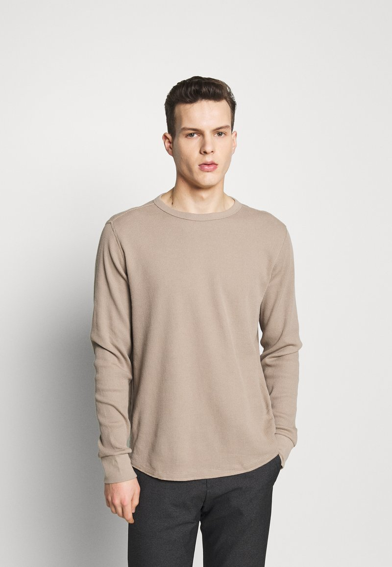 GAP - WAFFLE CREW - Pullover - fall beige