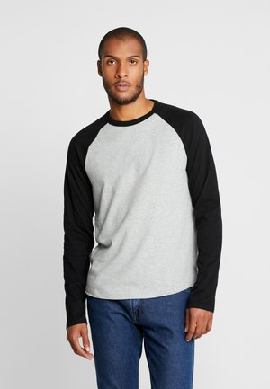 Long sleeved top - grey heather