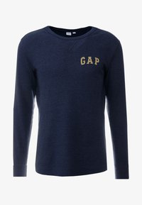 GAP - ARCH THERMAL - Long sleeved top - tapestry navy - 4