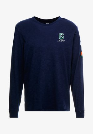 PATCH  - Long sleeved top - tapestry navy