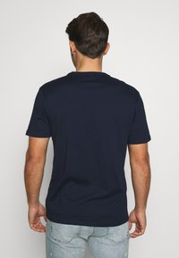 GAP - BASIC LOGO - Print T-shirt - tapestry navy - 2
