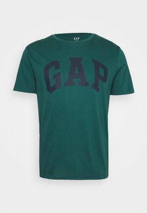 BASIC LOGO - T-shirt imprimé - velvet teal
