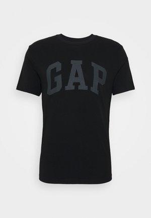 BASIC LOGO - T-shirt z nadrukiem - true black