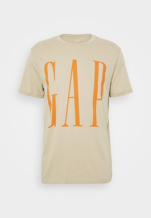 CORP LOGO - T-shirt con stampa - sand