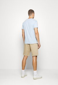 GAP - V-MINI ARCH LOGO - Print T-shirt - light blue shadow - 2