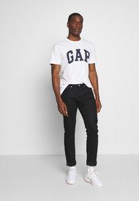 GAP - VBASIC ARCH 2 PACK - T-shirt z nadrukiem - blue/white - 0