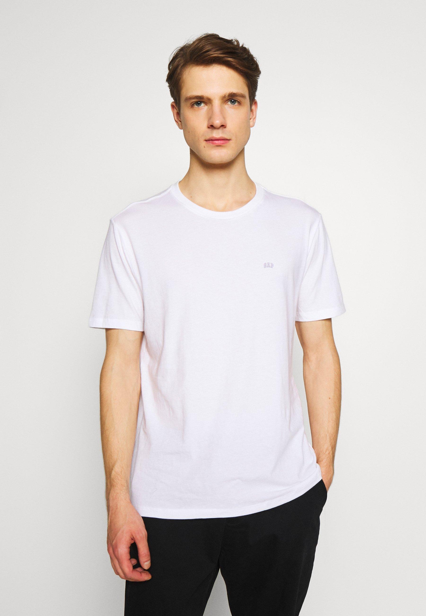 GAP CREW 2 PACK - T-shirt basic - optic white