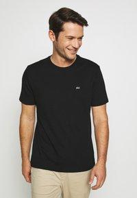 GAP - CREW 2 PACK - Basic T-shirt - black - 1