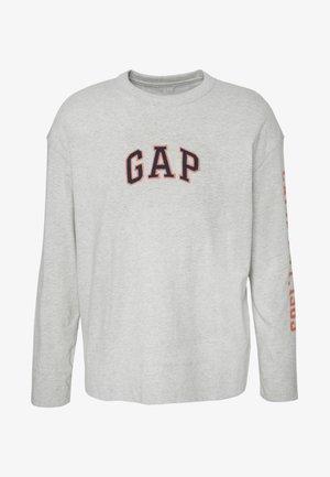 OVERSIZE CREW - Bluzka z długim rękawem - light heather grey