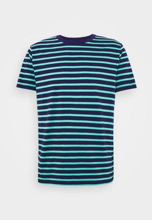 CLASSIC - T-shirt med print - navy/green