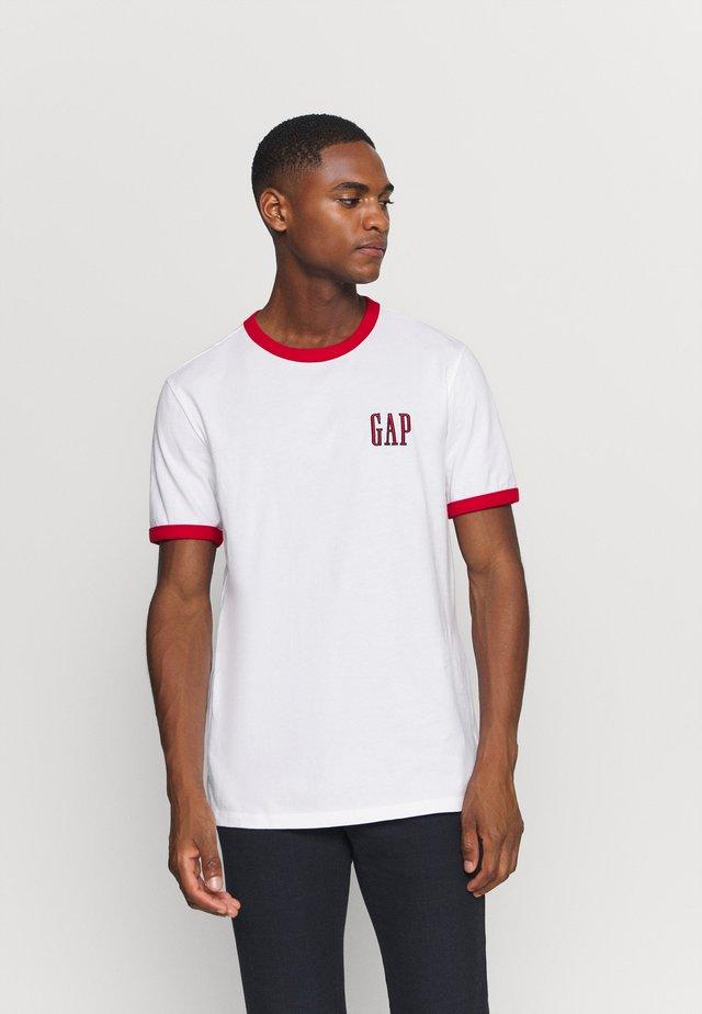 LOGO RINGER  - Print T-shirt - optic white