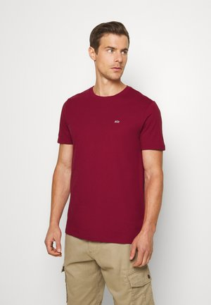 CREW 2 PACK - Basic T-shirt - white/red