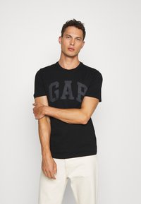 GAP - BASIC ARCH 2 PACK - Print T-shirt - blue black - 1