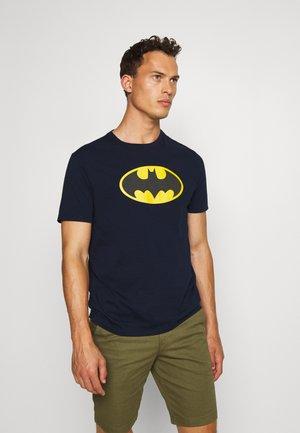 BATMAN - Print T-shirt - tapestry navy