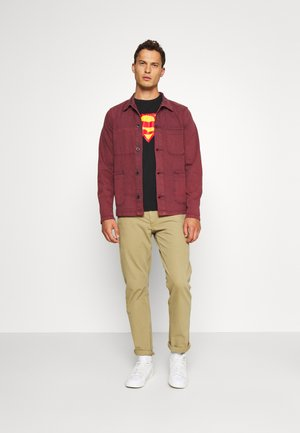SUPERMAN - Print T-shirt - moonless night