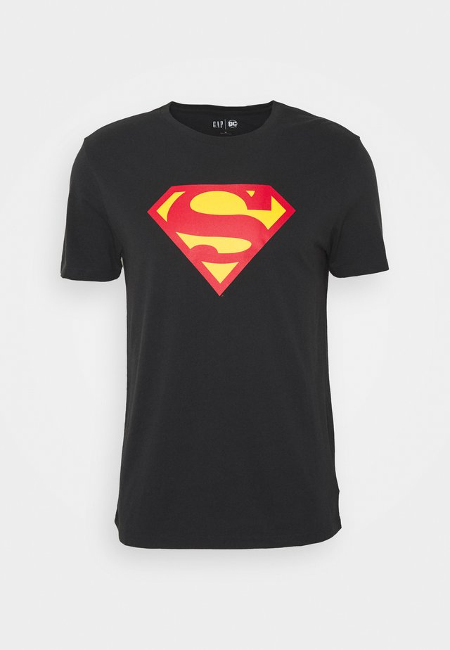 SUPERMAN - T-shirt con stampa - moonless night
