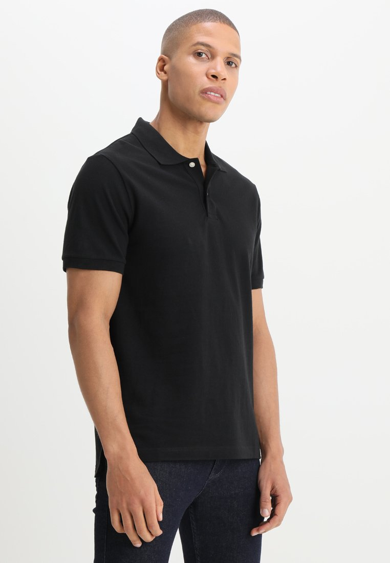 GAP - BASIC - Polo shirt - true black