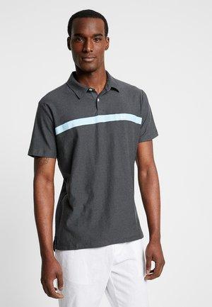 FRANCH LOGO - Polo shirt - soft black