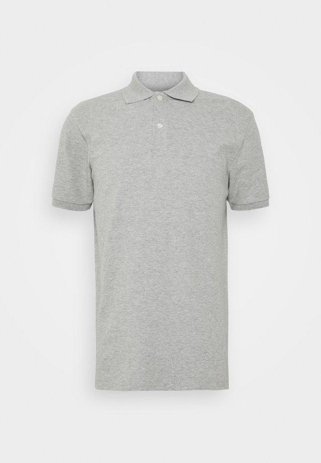 SOLID - Poloshirt - light heather grey