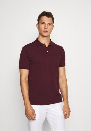 SOLID - Polo shirt - pinot noir