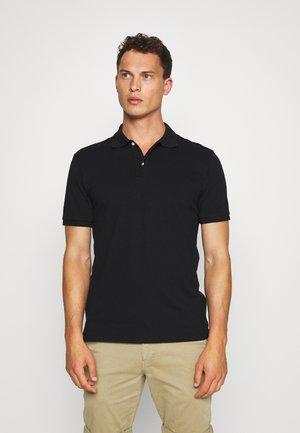SOLID - Polo shirt - true black