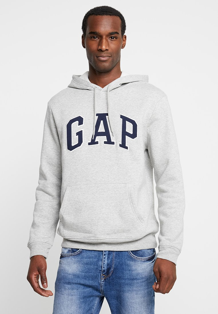 GAP - ARCH - Hættetrøjer - light heather grey