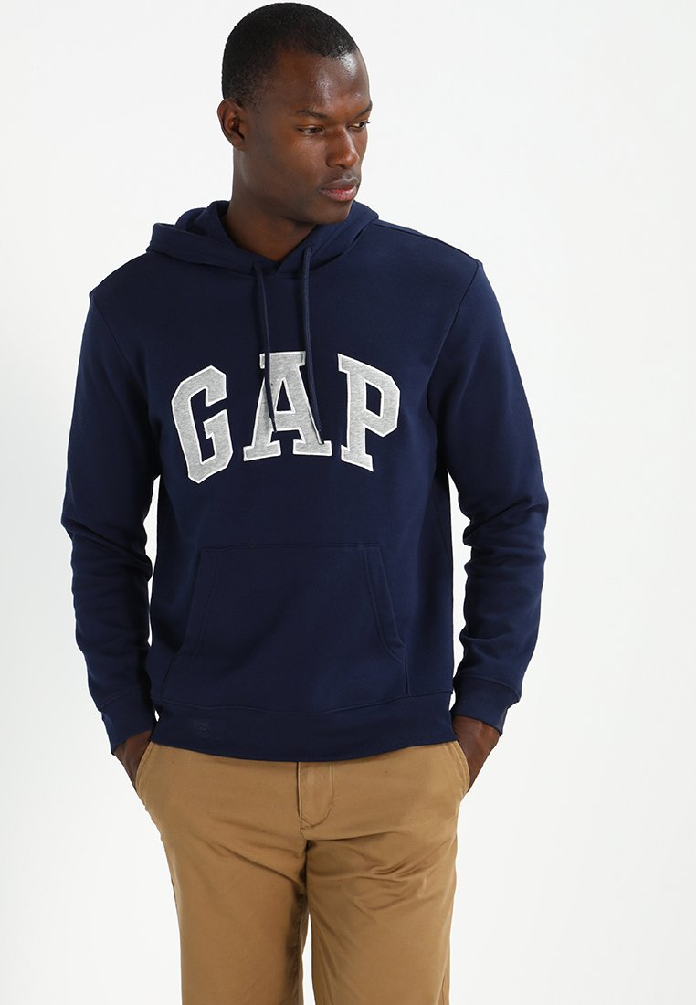 GAP - ARCH - Jersey con capucha - tapestry navy
