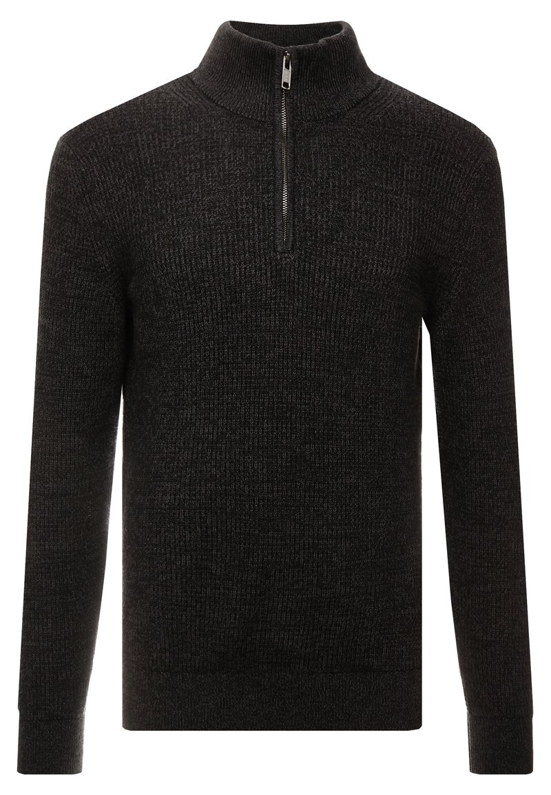 GAP - MOCK - Strickpullover - true black