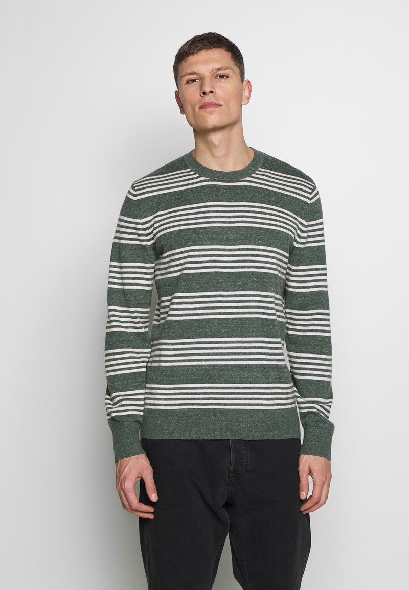 GAP - MAINSTAY CREW - Sweter - winter forest