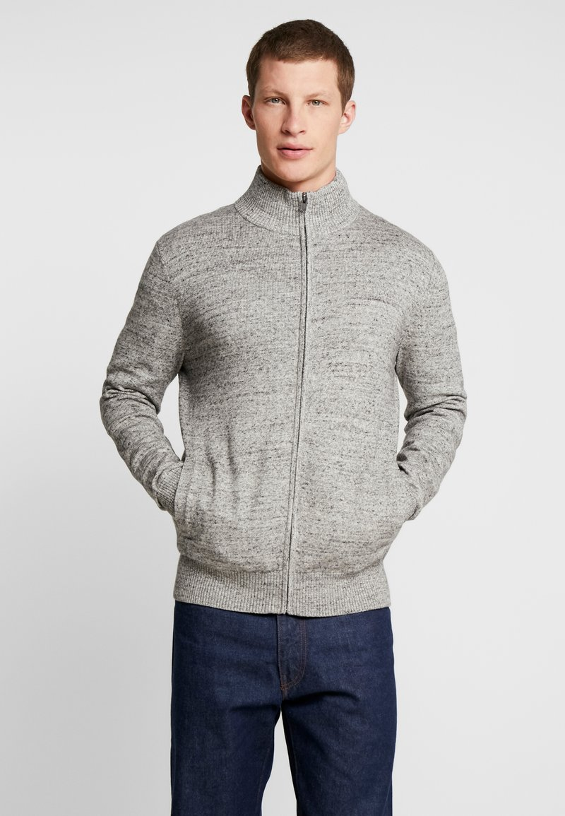 GAP - MOCK NECK - Cardigan - grey