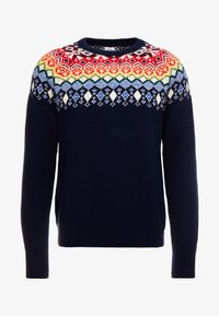 GAP - FAIRISLE YOKE CREW - Jumper - tapestry navy - 3