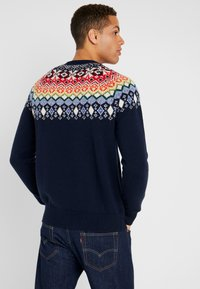 GAP - FAIRISLE YOKE CREW - Jumper - tapestry navy - 2