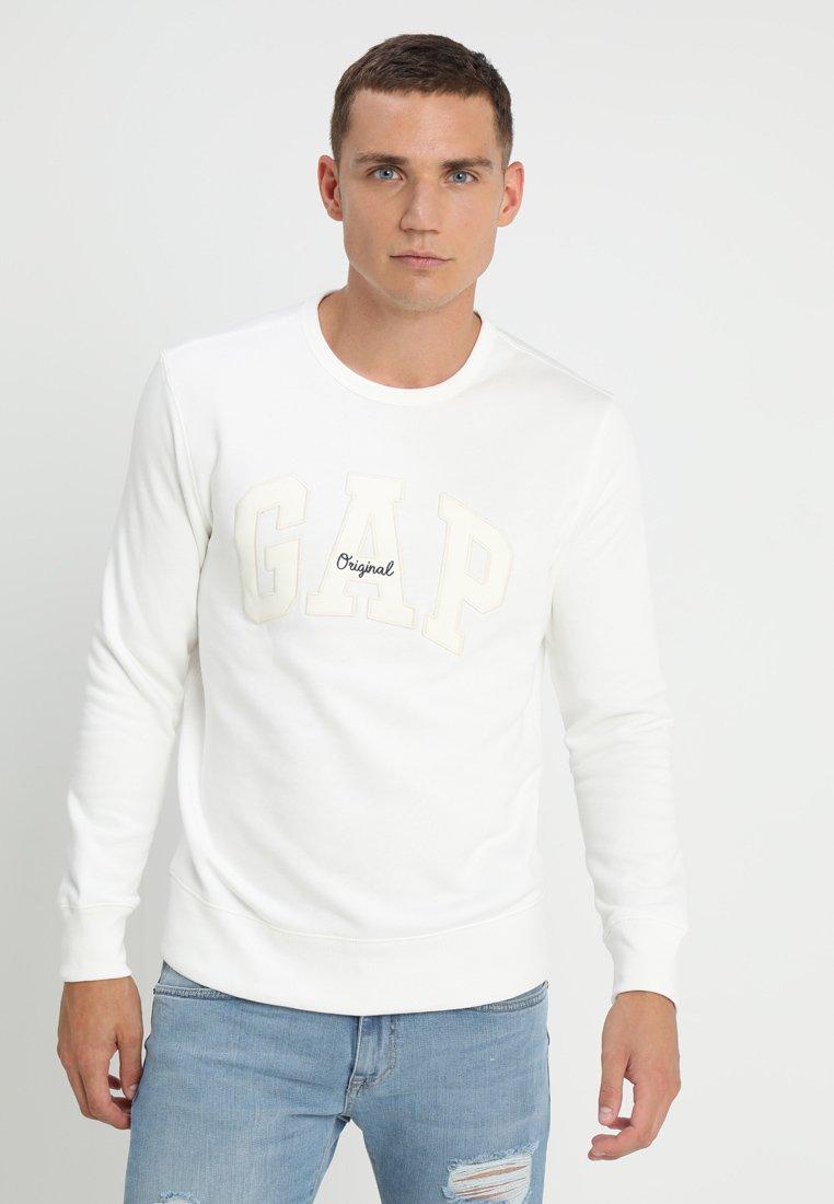 GAP - ORIGINAL ARCH CREW - Sweatshirt - new off white
