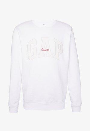 ORIGINAL ARCH CREW - Sweatshirt - fresh white