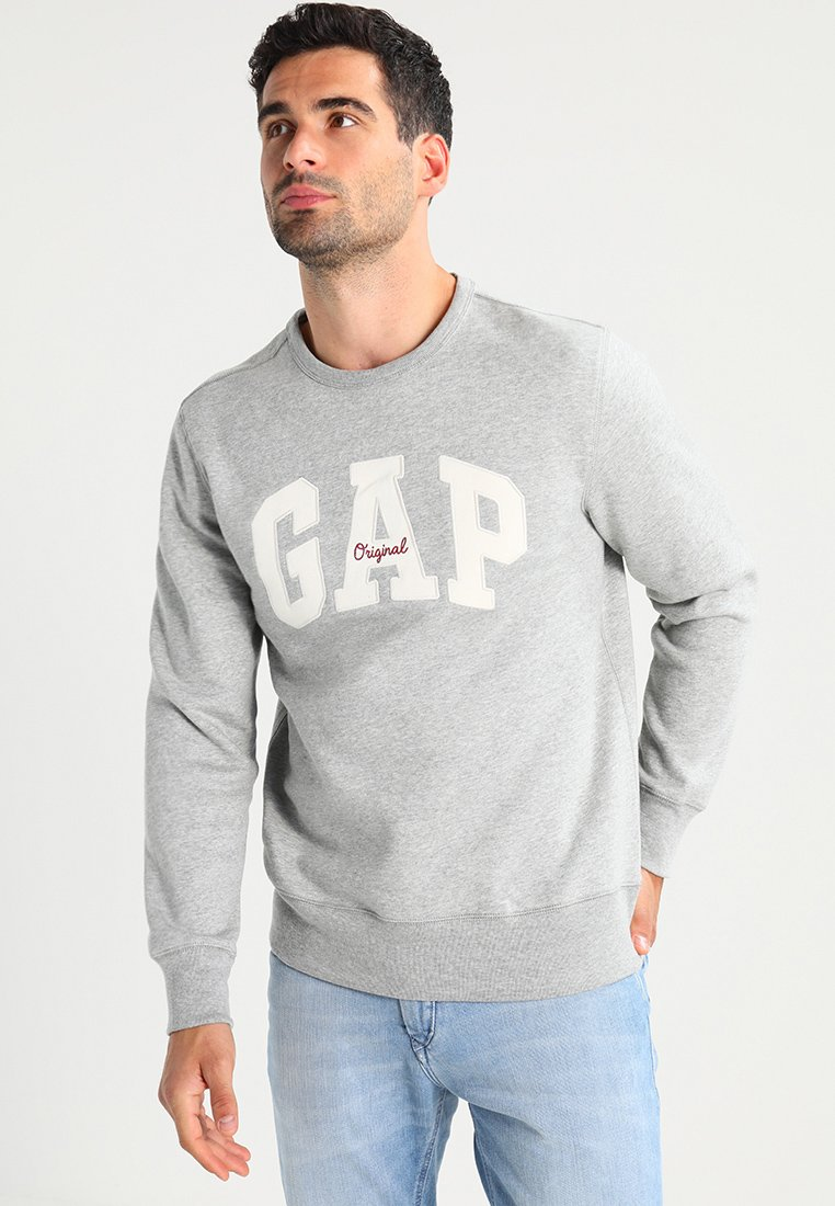 GAP - ORIGINAL ARCH CREW - Sweatshirt - heather grey