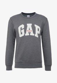 GAP - ORIGINAL ARCH CREW - Sudadera - charcoal grey - 4