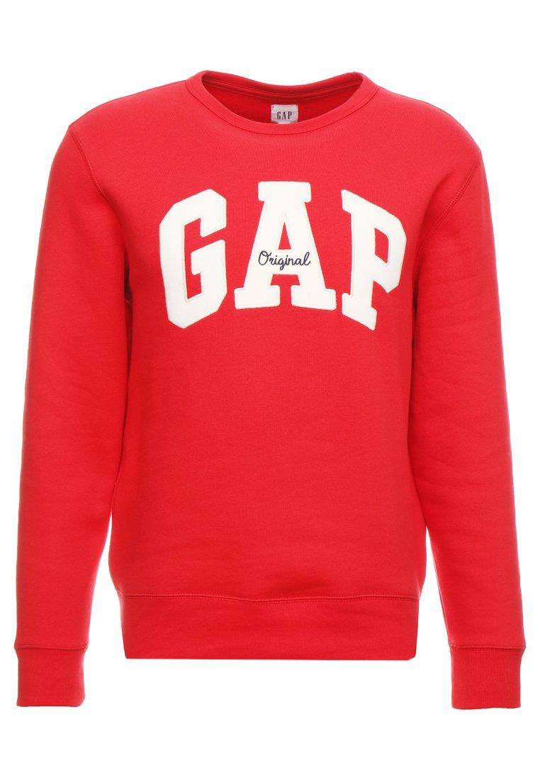 GAP ORIGINAL ARCH CREW - Felpa - pure red