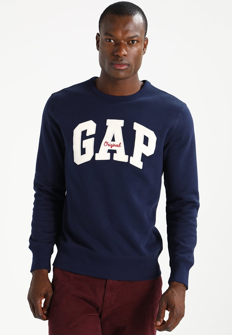 GAP - ORIGINAL ARCH CREW - Sweatshirt - tapestry navy